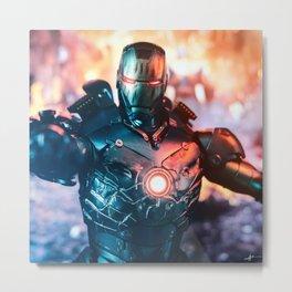 Iron Man mk3 stealth mode Metal Print