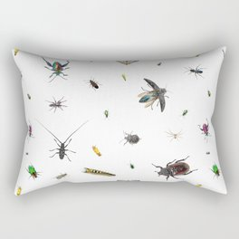 Love Bugs Rectangular Pillow