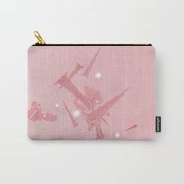 Voyage in Pink Carry-All Pouch