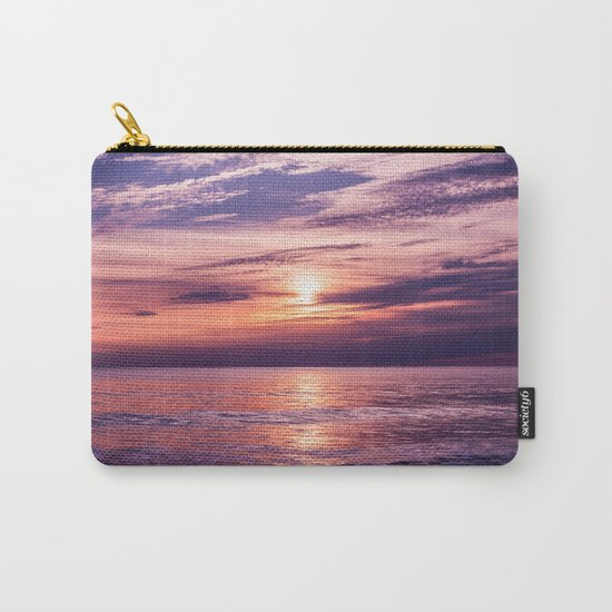 A Moving Sea Between The Shores Carry-All Pouch