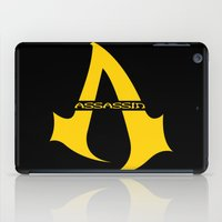 assassins creed iPad Cases featuring Assassins Clan by HuckBlade