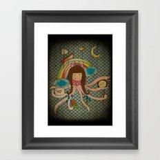 I'm A Little Octopus Framed Art Print