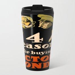 Vintage poster - Victory Bonds Travel Mug