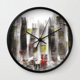 City Sketch Wall Clock