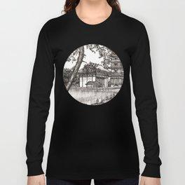 Japan Temple Long Sleeve T-shirt