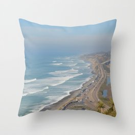 Beach Look Throw Pillow