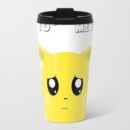 A shy pet named Fellow Travel Mug