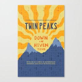 Twin Peaks: Down In Heaven Tour @ The Waiting Room Canvas Print