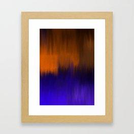 Landscape by night Framed Art Print