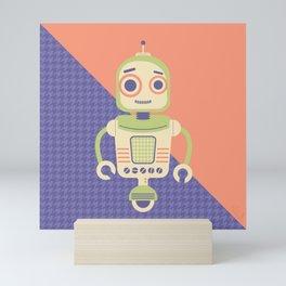 Rob-Bot02 Mini Art Print