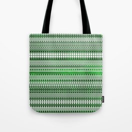 Tribality Green Texture Tote Bag
