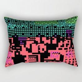 cityscape 07A ZX (C64 Re-remix) (2011) Rectangular Pillow