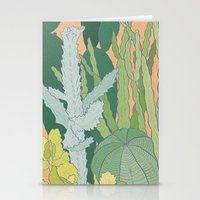 cacti Stationery Cards featuring Cacti by Julia Walters Illustration