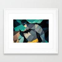 dc comics Framed Art Prints featuring DC Comics Superhero by Eric Dufresne