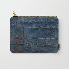 Middle evo wall made with blocks of stone. Carry-All Pouch