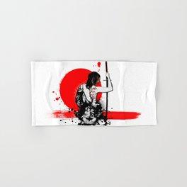 Trash Polka - Female Samurai Hand & Bath Towel