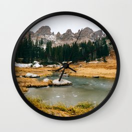 Gore Range – Rocky Mountains Wall Clock