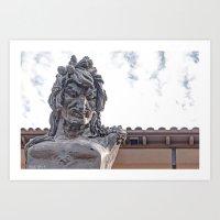mythology Art Prints featuring Mythology by lensebender