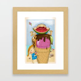 The pleasure of being twin Framed Art Print