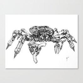 Crabatron Canvas Print
