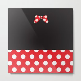 Minnie Mouse No. 2 Metal Print