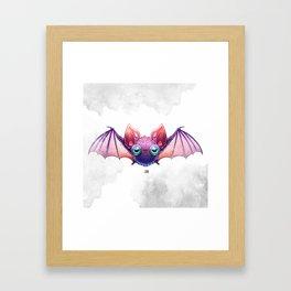 Betsy the Batt Framed Art Print