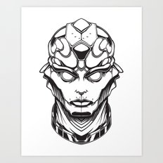 Mass Effect. Thane Art Print