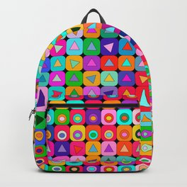 Op Art (LOVE) Backpack