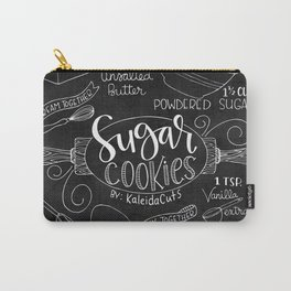 Sugar Cookie Recipe Art Carry-All Pouch