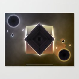 Untitled Abstract #1 Canvas Print