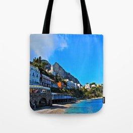 Capri, Italy Amalfi Coast Tote Bag