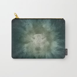 forest wolf Carry-All Pouch