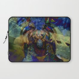 Mardi Gras Lhama Laptop Sleeve