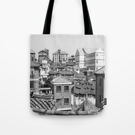 Seoul Rooftops Tote Bag