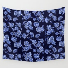 Porcelain Floral Wall Tapestry