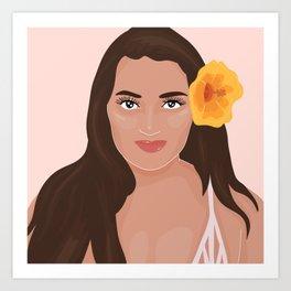 @kanoehanale Art Print