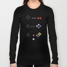 90's gaming Long Sleeve T-shirt