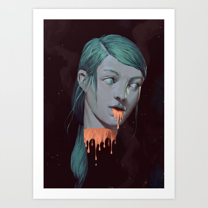 Ghost III Art Print
