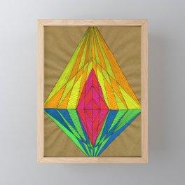 Diamond Light Framed Mini Art Print