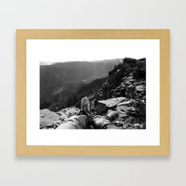 Table Mountain Framed Art Print
