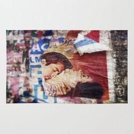 Torn Bollywood Poster, 2014 Rug