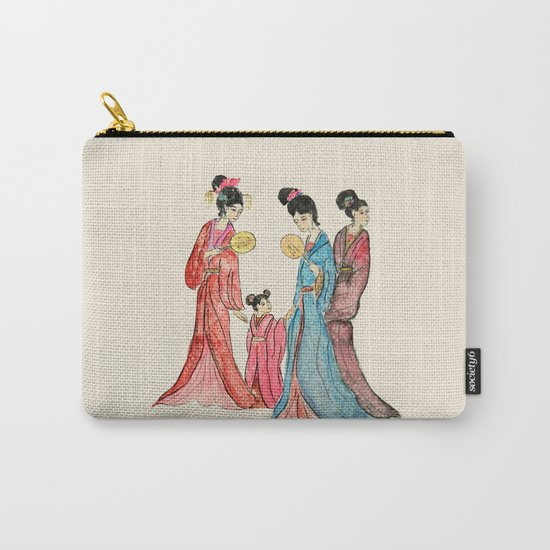 Ancient Chinese ladies painting Carry-All Pouch