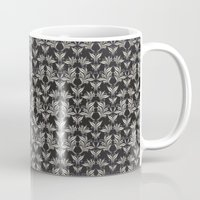 floral pattern Mugs featuring Floral Pattern by Robin Curtiss