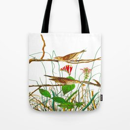 Savannah Finch Bird Tote Bag
