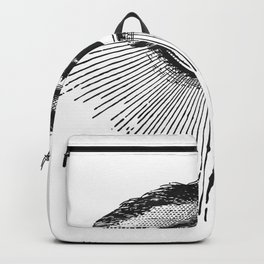 I See You. Black and White Backpack