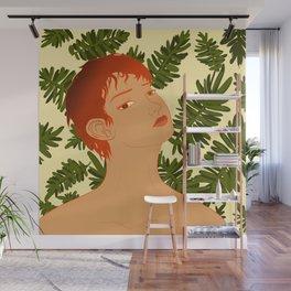 Leaf Me Be Wall Mural