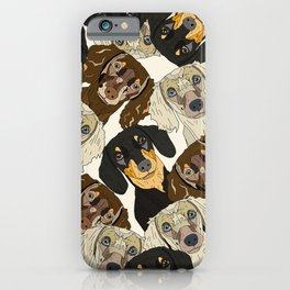 Doxie Nation iPhone Case