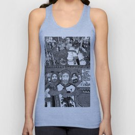 They Came With Axes Unisex Tank Top