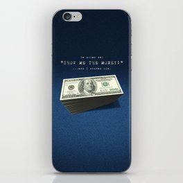 Show Me The Money - USD on Jeans iPhone Skin