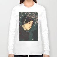 sasuke Long Sleeve T-shirts featuring float by chibikizumi